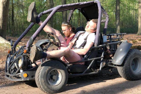 Buggy rijden halfjaarlijkse meeting